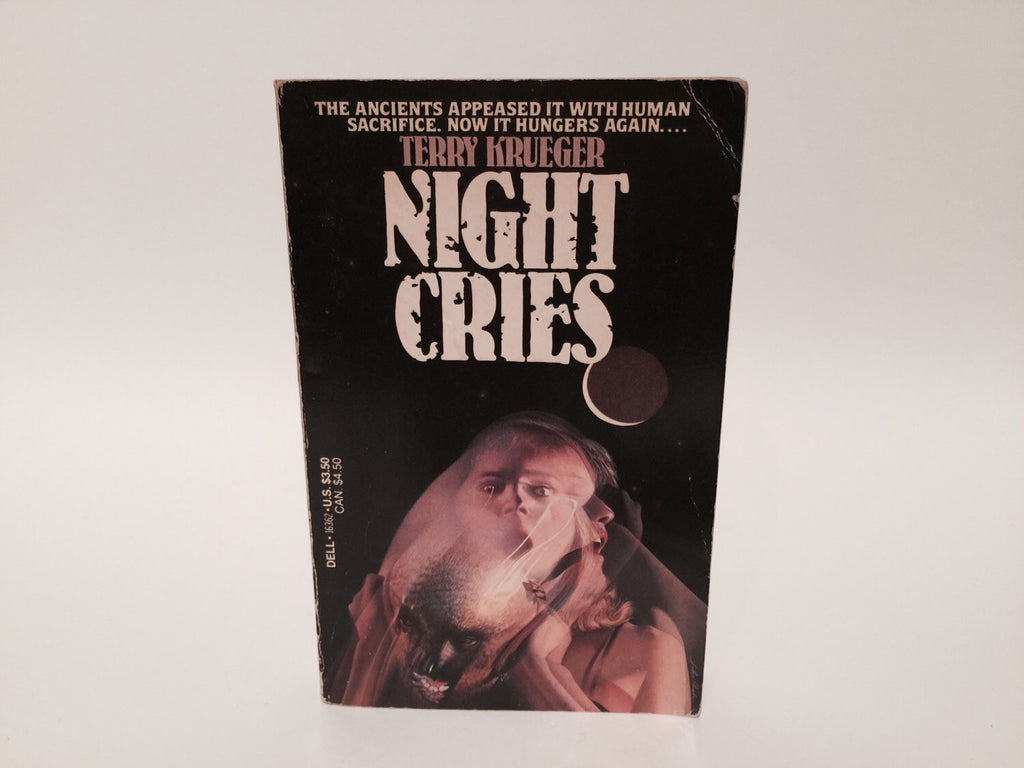 Night Cries by Terry Krueger 1985 Paperback - LaCreeperie