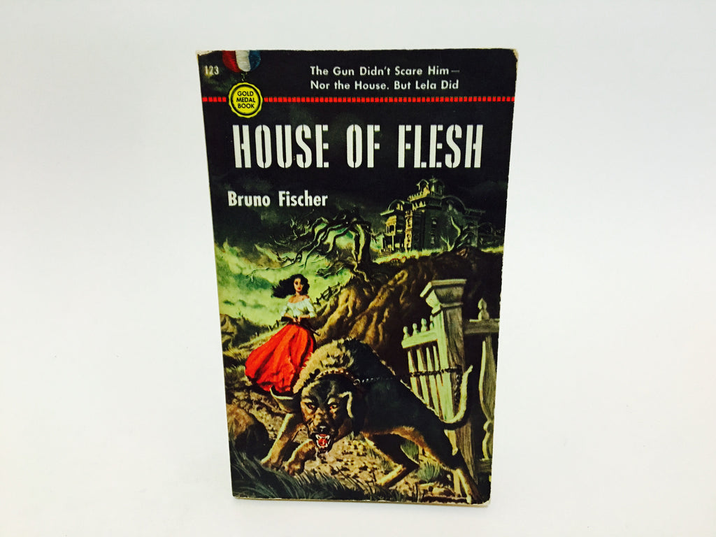 House of Flesh by Bruno Fischer 1950 Paperback - LaCreeperie