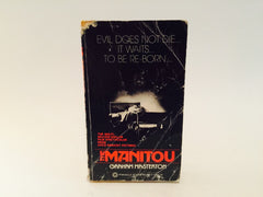 The Manitou by Graham Masterton 1978 Movie Tie-In Edition Paperback - LaCreeperie