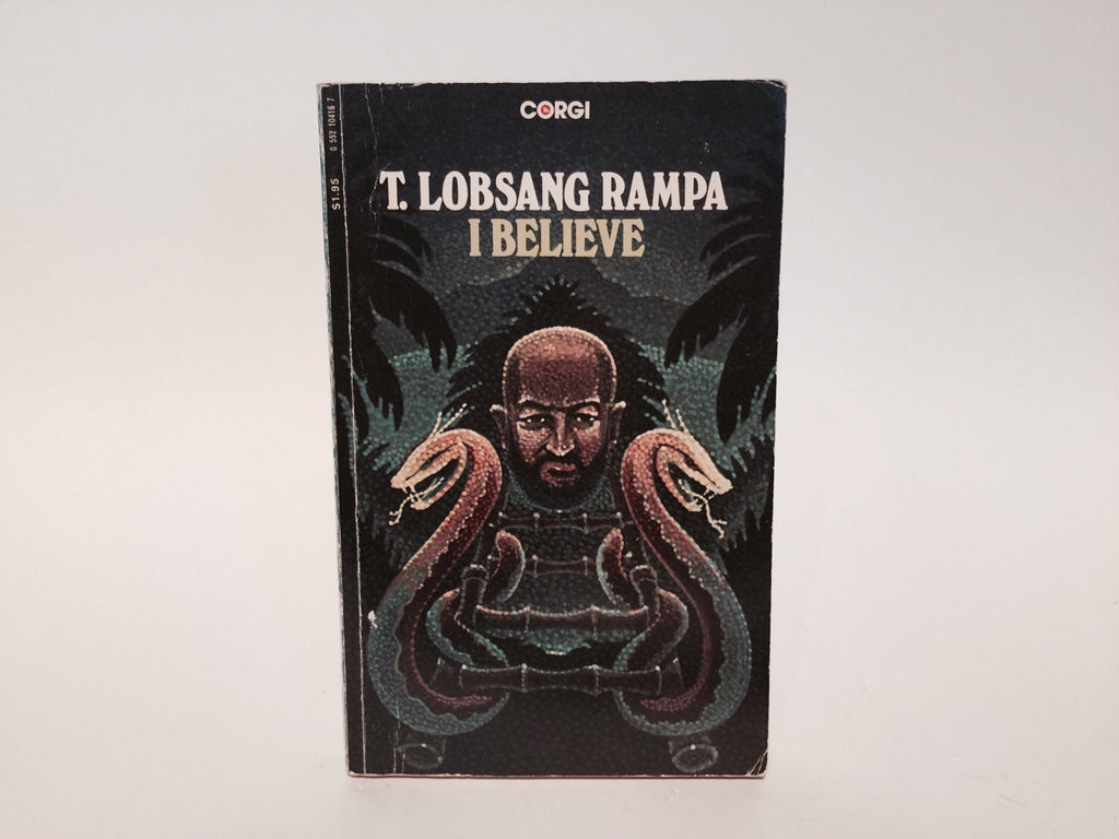 I Believe by Lobsang Rampa 1977 UK Edition Paperback - LaCreeperie