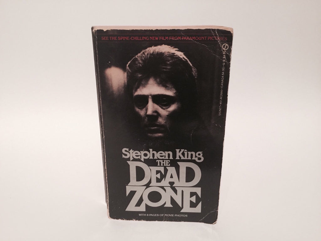 The Dead Zone by Stephen King 1980 Paperback Movie Tie-In Edition - LaCreeperie