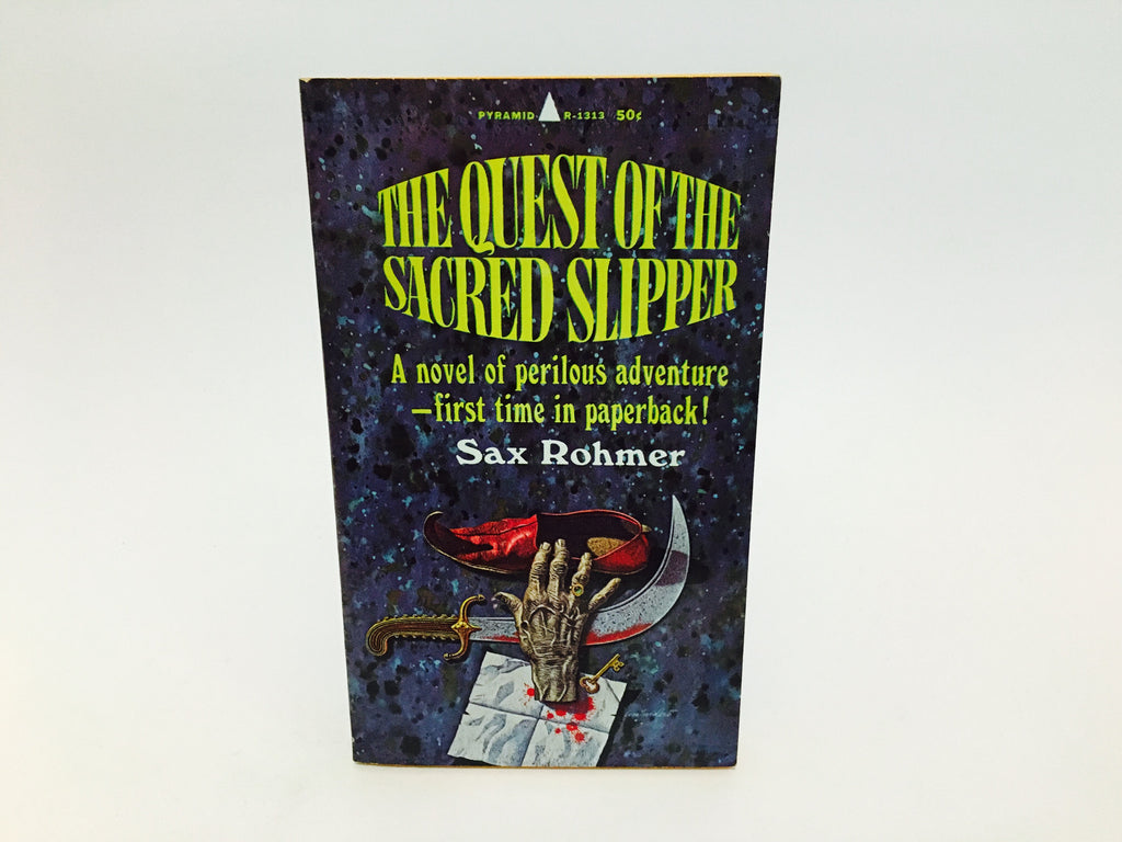 The Quest of the Sacred Slipper by Sax Rohmer 1966 Paperback - LaCreeperie
