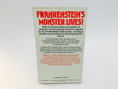 The Cross of Frankenstein by Robert J. Myers 1977 UK Edition Paperback Series - LaCreeperie