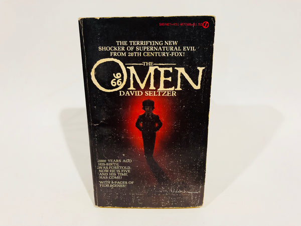 The Omen by David Seltzer 1976 Paperback