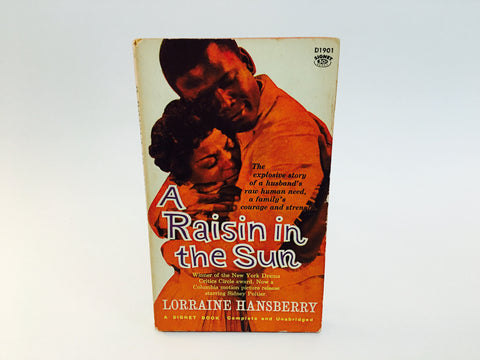 A Raisin In The Sun Screenplay 1961 Paperback