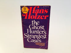 The Ghost Hunter's Strangest Cases by Hans Holzer 1975 Paperback - LaCreeperie