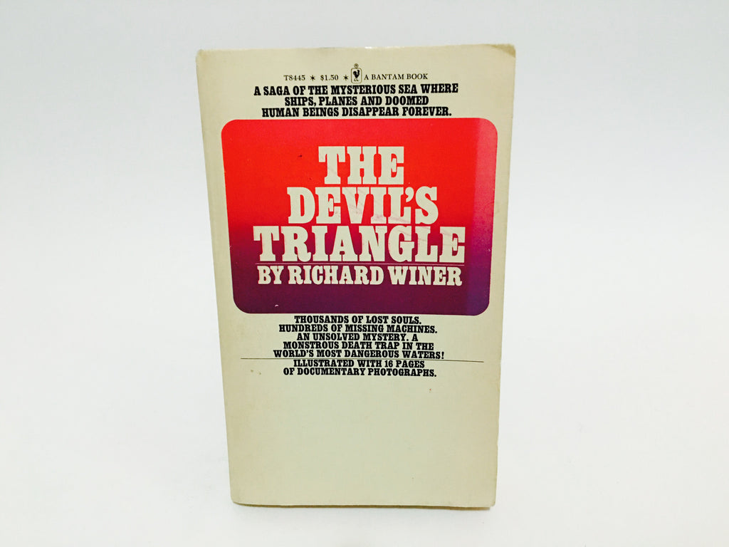 The Devil's Triangle by Richard Winer Thomas 1975 Paperback - LaCreeperie