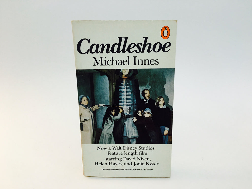 Candleshoe by Michael Innes 1978 UK Edition Paperback Disney - LaCreeperie
