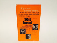 Shock Treatment 1964 Movie Tie-In Edition Paperback - LaCreeperie