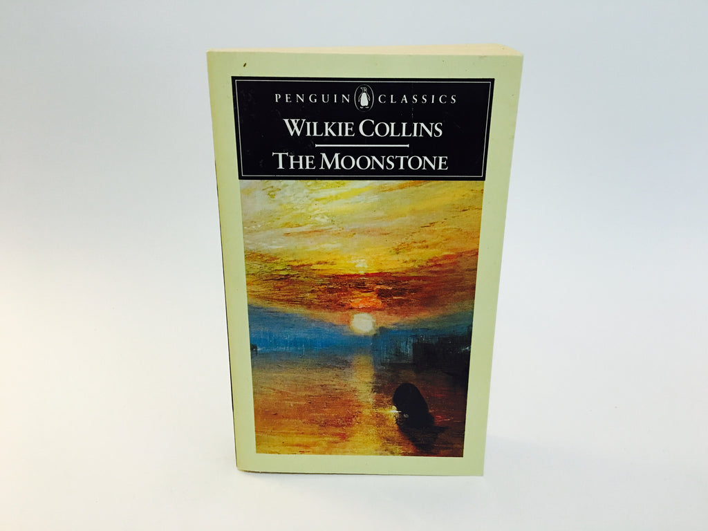 The Moonstone by Wilkie Collins 1986 UK Penguin Edition Softcover - LaCreeperie