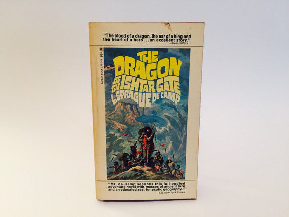 The Dragon of the Ishtar Gate by L. Sprague de Camp 1968 Paperback - LaCreeperie