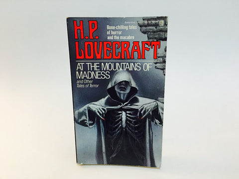 At the Mountains of Madness by H.P. Lovecraft 1982 Paperback Anthology