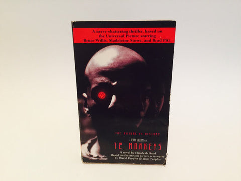 12 Monkeys Film Novelization 1995 Paperback