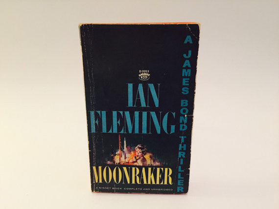 Moonraker by Ian Fleming 1965 Paperback - LaCreeperie