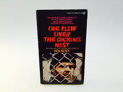 One Flew Over The Cuckoos Nest by Ken Kesey 1975 Paperback