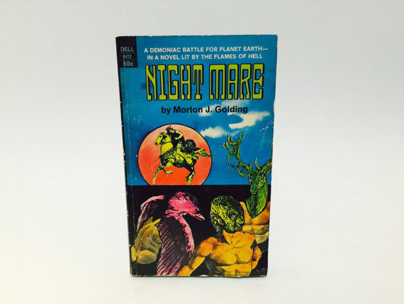 Night Mare by Morton Golding 1970 Paperback - LaCreeperie