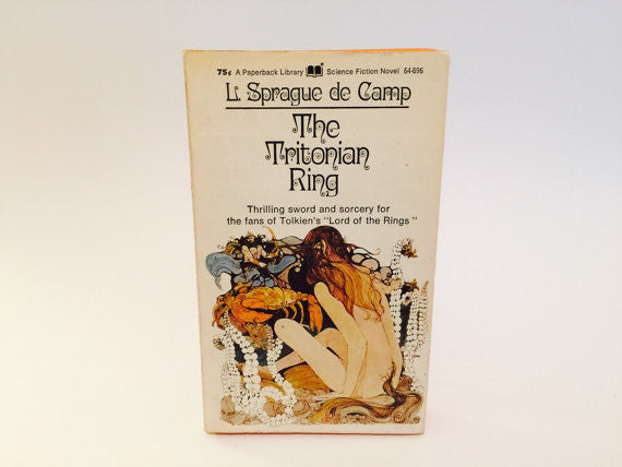 The Tritonian Ring by L. Sprague de Camp 1971 Paperback - LaCreeperie