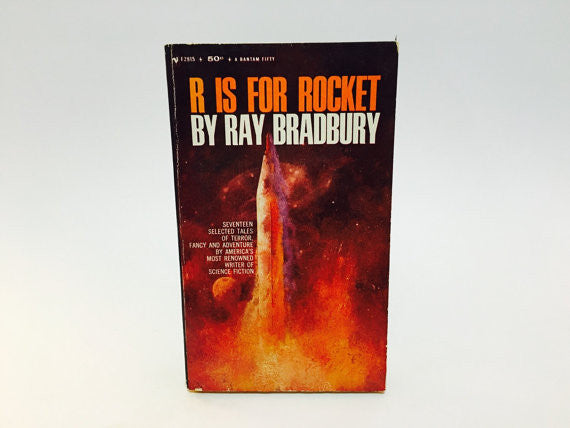 R is for Rocket by Ray Bradbury 1965 Paperback Anthology - LaCreeperie