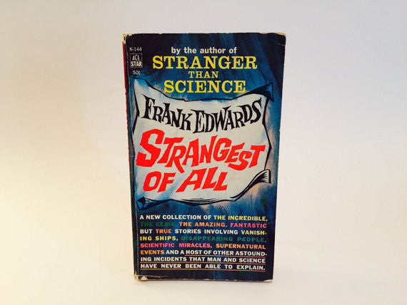 Strangest of All by Frank Edwards 1962 Paperback - LaCreeperie