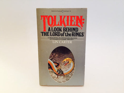Tolkien: A Look Behind the Lord of the Rings by Lin Carter 1976 Paperback
