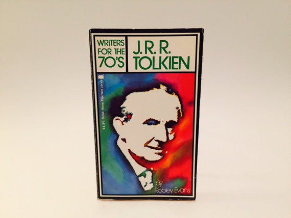 J.R.R. Tolkien by Robley Evans 1972 Paperback - LaCreeperie