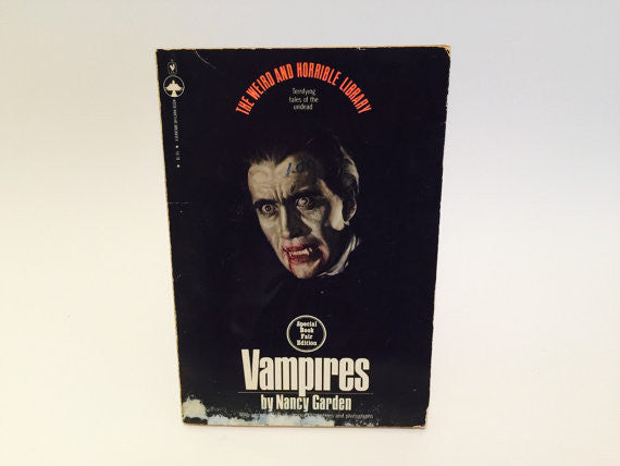 Vampires by Nancy Garden 1979 Softcover - LaCreeperie