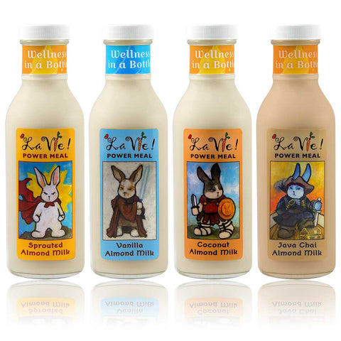 Drink La Vie Sprouted Almond Milks