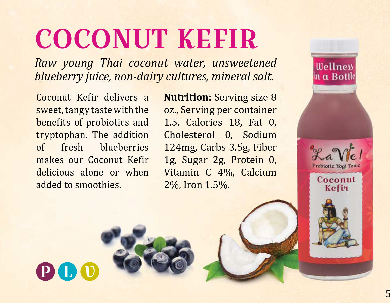 Probiotic Coconut Kefir