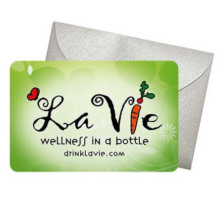 Physical Gift Card - Give the Gift of Health!