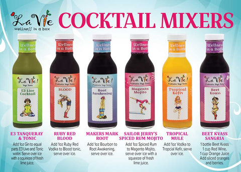 Cocktail Mixers 6-Pack