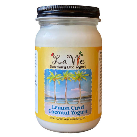 Lemon Curd Coconut Yogurt