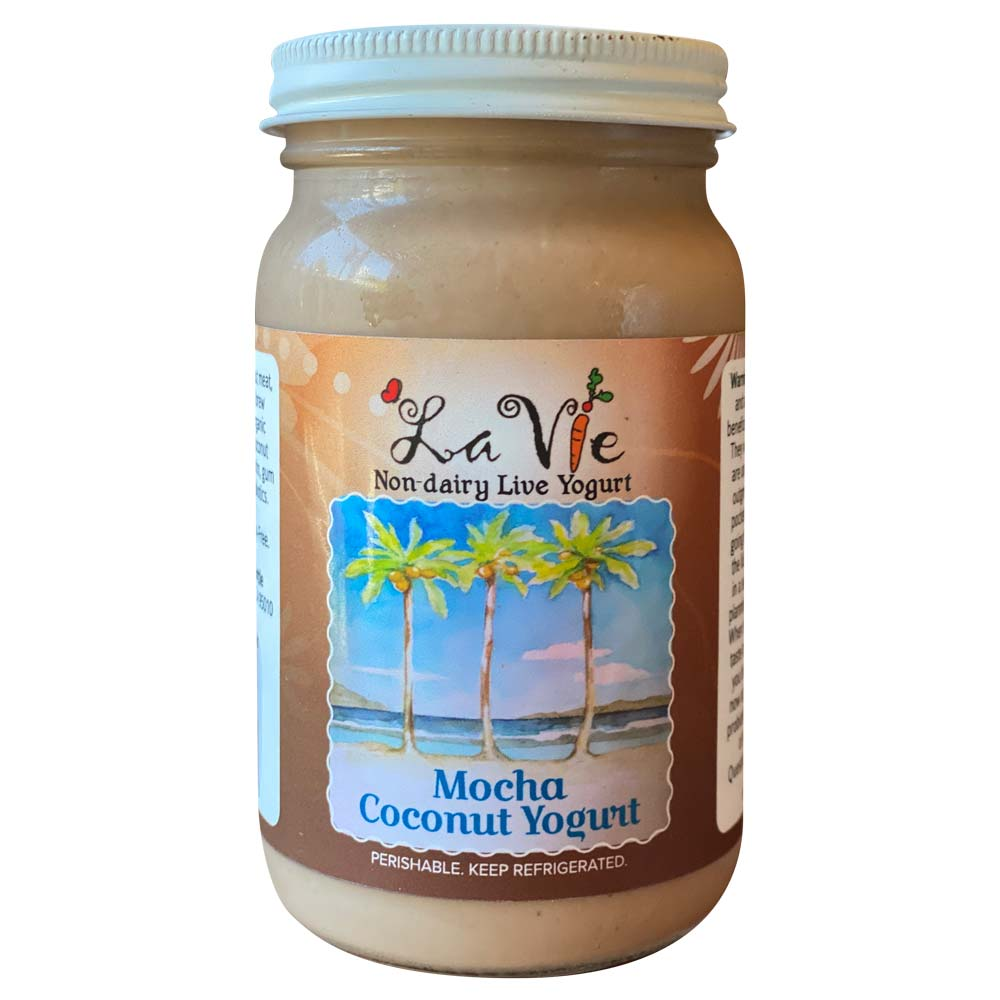 Mocha Coconut Yogurt 8oz