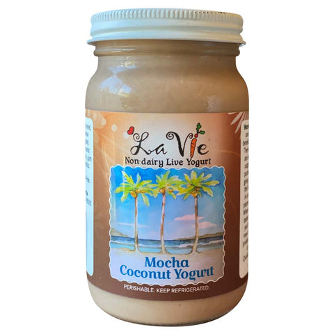 Mocha Coconut Yogurt
