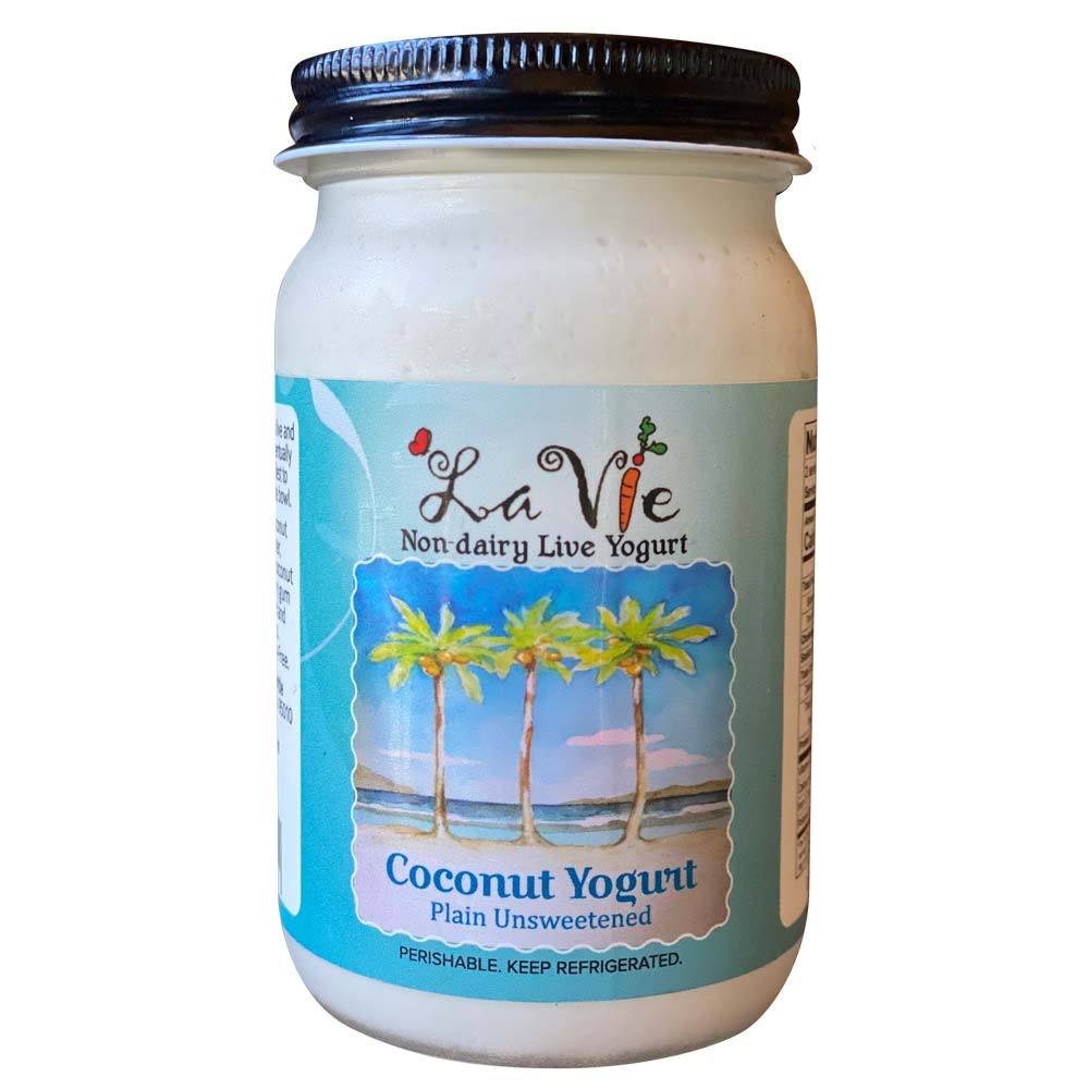 Plain Coconut Yogurt (Unsweetened)