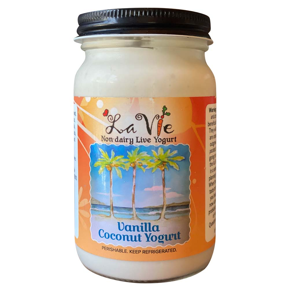 Vanilla Coconut Yogurt