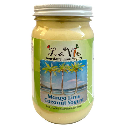 Mango Lime Coconut Yogurt