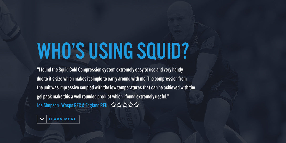 Cold Compression System for Athletes