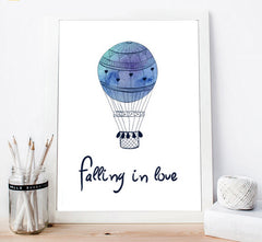 """LOVEABLE BLUE BALLOON"""