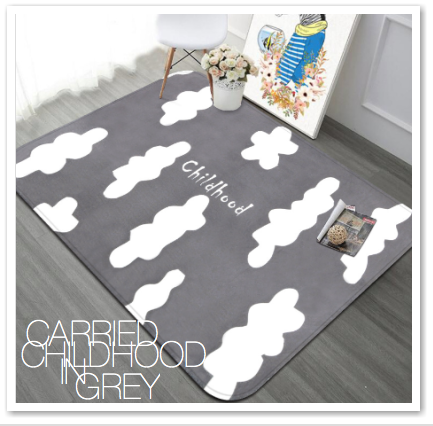 CARRIED CHILDHOOD IN GREY