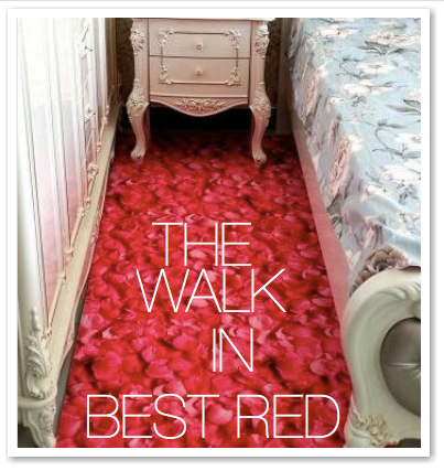 THE WALK IN BEST RED