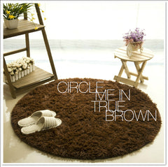 CIRCLE ME IN TRUE BROWN