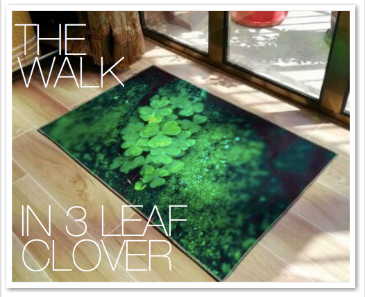 THE WALK IN 3 LEAF CLOVER