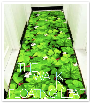 THE WALK IN FLOATING LEAF