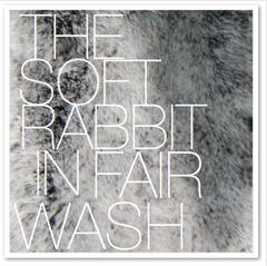 THE SOFT RABBIT IN FAIR WASH