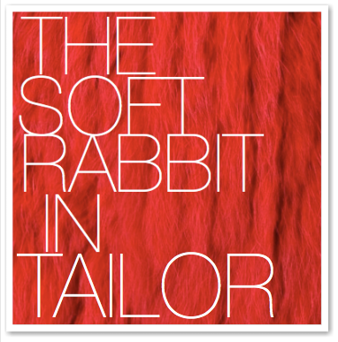 THE SOFT RABBIT IN TAILOR