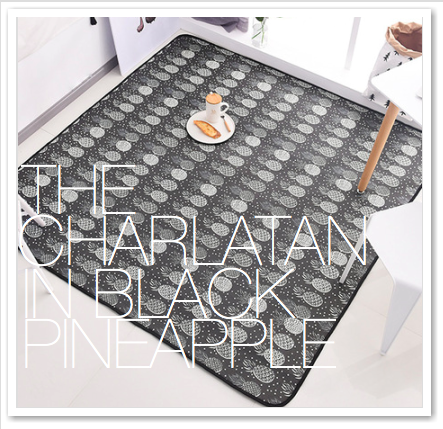 THE CHARLATAN IN BLACK PINEAPPLE
