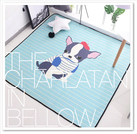 THE CHARLATAN IN BELLOW