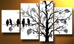 """FIVE OVER THE BLACK BIRDS TREE"""
