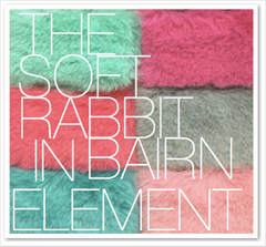 THE SOFT RABBIT IN BAIRN ELEMENT