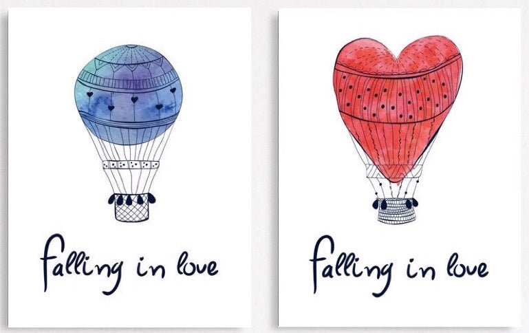 """TWO FALL IN LOVE"""